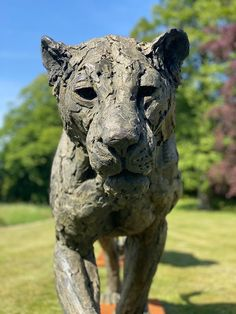 Bronze, signed, dated & numbered Lion Walking, Wild Lion, Sculptures, Lion Sculpture, Lion Art, Farm Barn, He Is Able, Mark Making, Bronze Sculpture