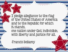 Pledge of Allegiance Sign Freebie!  Need a new Pledge of Allegiance Sign for your classroom {some schools still recite it every day}?  Grab it here!  Either print on cardstock and laminate - or print and then run through a poster maker for a larger version.   Enjoy!