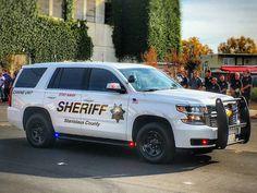 Stanislaus County Sheriff Canine Unit 2016 Chevy Tahoe Slicktop