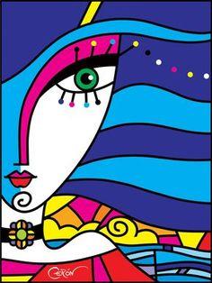 FRANCISCO CERON Colombiano experto en arte visual su estilo es Post pop Moderno.