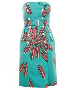 STELLA JEAN | Cotton Bustier Dress