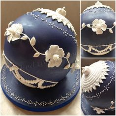Regency Christmas bauble by Tina