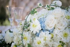 Cinderella Themed Engagement: Floral Cascade Details  Planner -  @slicpins  - Wedding Photographer - @ryananddenise2 #youreventflorist #engagement