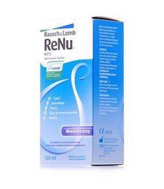 W przypadku osób noszących na co dzień szkła kontaktowe należy zakupić również płyn do pielęgnacji soczewek.