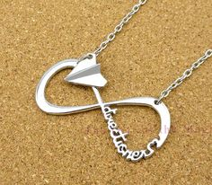 Directioner INFINITY necklace>>>MUST. HAVE.