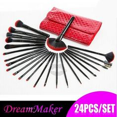 ❤ $20.06!!! Professional 24 pcsWoolMakeup Brush tools kit ❤ Purchase link: http://www.aliexpress.com/store/product/DM2006/1627088_32260312710.html