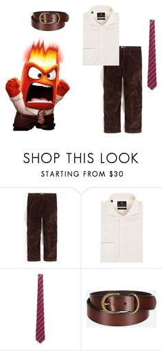 """""""Anger"""" by oviyaa-t on Polyvore featuring J.Crew, Chester Barrie, Canali, Uniqlo, men's fashion and menswear"""