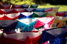 Burst of Color Wedding Party Ideas   Photo 1 of 36   Catch My Party
