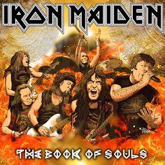 PARDO DIBUJOS: IRON MAIDEN The Book Of Souls