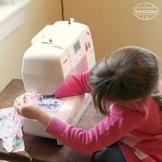 Tiny Sewists: Teaching Kids to Sew :: Lesson 5 | A Jennuine LifeA Jennuine Life