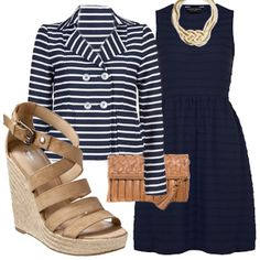 Stripes and Scallops - Kassie's Closet