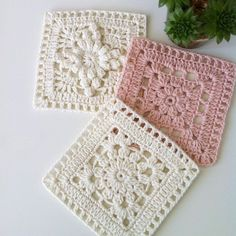 Love scrap use maybe that happens to all old knitters and crocheters lol jh crochet fox crochet gifts love crochet crochet granny crochet squares crochet lace crochet motif crochet stitches crochet patterns – ArtofitCal crochet in boom flower squar Crochet Blocks, Granny Square Crochet Pattern, Crochet Squares, Crochet Blanket Patterns, Crochet Motif, Crochet Designs, Free Crochet, Knitting Patterns, Granny Squares