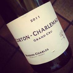Domaine Buisson-Charles Corton-Charlemagne Grand Cru 2011 #dansmonverre