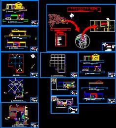 Engineering et Architecture: Plans Cinémas dwg Bloc Autocad, Plan Restaurant, Centre Commercial, Architecture Plan, Sweet Home, Engineering, Cinema, How To Plan, Villas