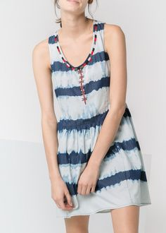 Bead striped dress. Just like the one Freepeople had last summer but short