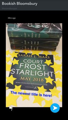 ACOTAR #4! !!! A Court of Frost and Starlight