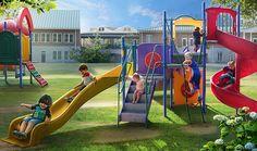 Gardens of Time / Playground Fun