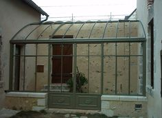 Serre adossée 2 Lean To Greenhouse, Greenhouse Plans, Greenhouse Gardening, Backyard Chicken Coop Plans, Chickens Backyard, Pergola, Glass House, Outdoor Projects, Outdoor Rooms