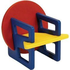 Silla de diseño original / para niños / de madera / patas estándar PUZZLE by David Jones Offi