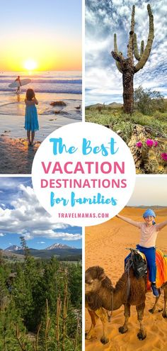 Trying to figure out where to go on family vacation? Take a look at this list of kid-friendly vacation destinations sure to please all ages and interests! From a relaxing beach holiday to adventurous foreign travel, you're sure to find something that suits your vacation personality! #familytravel #travelwithkids #travel Road Trip With Kids, Travel With Kids, Family Travel, Best Family Vacation Destinations, Vacation Ideas, Travel Destinations, Arizona Travel, Romantic Vacations, Beach Holiday