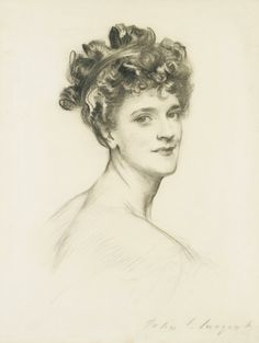View Alice,Lady Lowther nee Blight by John Singer Sargent on artnet. Browse more artworks John Singer Sargent from Forum Gallery Inc. Artist Inspiration, Portraiture, Master Drawing, John Singer Sargent, Sargent Art, Portrait, Singer Sargent, Portrait Gallery, American Artists