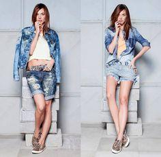 Espaço Fashion 2014 Summer Womens Lookbook - Brazil Southern Hemisphere 2014 Verao Mulheres: Designer Denim Jeans Fashion: Season Collections, Runways, Lookbooks and Linesheets