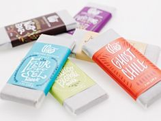 Chocolate packaging   by Kelly Thompson