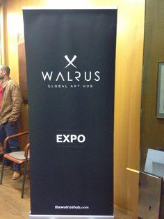 Primera expo colectiva organizada por The Walrus Hub en la Walrus Gallery