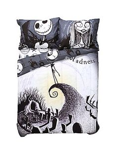The Nightmare Before Christmas Moonlight Madness Full/Queen Comforter,