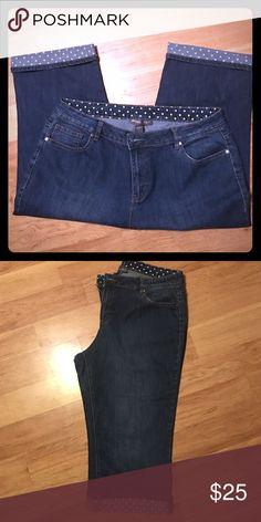 Jean capri Avenue Capri Avenue Jeans Ankle & Cropped