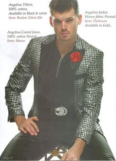 Angelino Platinum - ARZEL Angelino is back with this years hottest slim fit floral and patterned jackets! Made for the guy who truly wants to stand out, these floral and patterned blazers are perfect for any formal or informal occasion! Great for weddings, proms, or even casual wear!