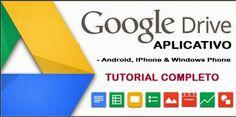 O Google Drive é um dos  melhores serviços para o armazenamento de arquivos nas nuvens. O o nome Google, o aplicativo é uma resposta da empresa aos concorrentes, como Dropbox e SkyDrive.  O aplicativo é compatível com todas as versões do Android, Iphone, Ipads e Windows Phone.Leia a matéria completa no blog e baixe o app para o seu smartphone ou tablet