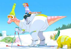 It is Dinosports winter season:D Thank you very much for the supports and happy new year everyone!!