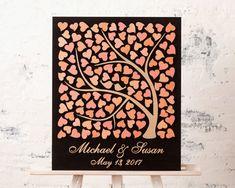 Boda los libro alternativa boda invitado libro huéspedes 3D