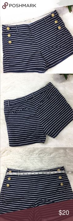 J Crew Factory Twisted Rope Shorts J Crew Factory twisted rope shorts nautical bottoms. Materials: 97% Cotton 3% Spandex in EUC J. Crew Factory Shorts