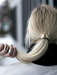 Hair Cuff and rings