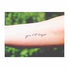 Pin for Later: 30 Meaningful Tattoos in Spanish You'll Want Immediately Sigue a tu corazón Translation: Follow your heart.