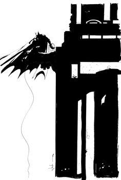 Batman (Bruce Wayne) (New Earth) | art by Jock