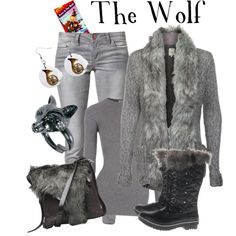 """""""The Wolf - Peter and the Wolf"""" by marybethschultz on Polyvore"""