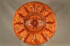"Large 10-3/4"" Zodiac Decorative Plate Centerpiece Ashtray"