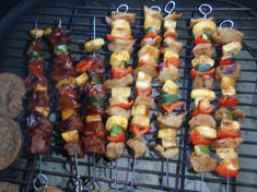 "Shish Kabob Marinade from Food.com:   								I got this recipe from a friend of mine. It is so easy to make and works for chicken, pork, beef or venison. Cook time is ""marinating"" time."