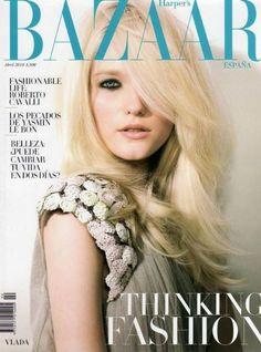 Vlada Roslyakova - Harpers Bazaar Magazine [Spain] (April 2010)
