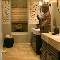 Resultado de imagen para muebles baño zen