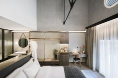 The Warehouse Hotel designed by local design studio Asylum.   Singapore