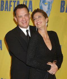Tom Hanks & Rita Wilson as Sam and Linda Hoffman . Professors in the Art Dept