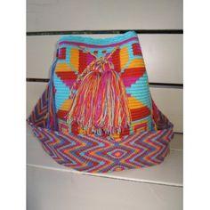 Kleine tassen : Wayuu Mochila - Fish Sky
