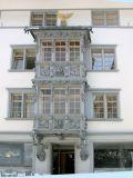 Historische Altstadt Prachtserker beim Haus zum Pelikan