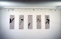 LA BESTIA/THE BEAST: el rey, la lanza, el baluarte, el rama, el obispo -1996 (mixed technique on handmade paper) cm 40x84 eachone - twitter.com/ragnoxxx #contemporaryart #artecontemporanea #conceptualart #visualart #arte #artecontemporaneo #artcontemporain #zeitgenössischekunst #kunst #artcollectors #art #artgallery #cosegiaviste #artexhibition