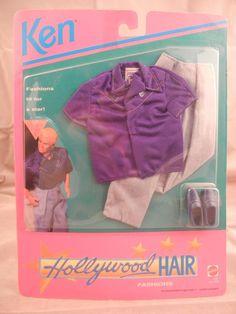 1992 Ken - Hollywood Hair #3747