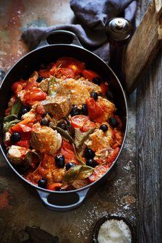 Mon sauté de veau aux olives - Laurent Mariotte Chefs, 20 Min, Paella, Buffet, Curry, Brunch, Yummy Food, Meat, Dinner